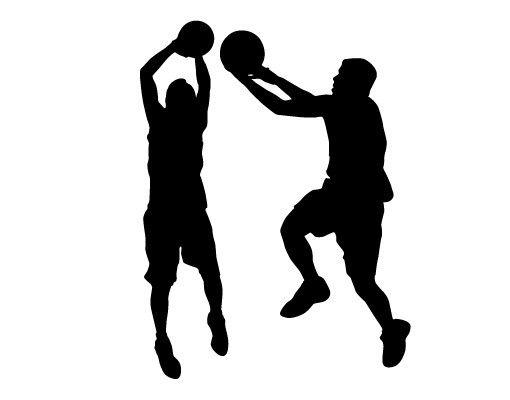 Wandtattoo No.813 Basketball Spieler