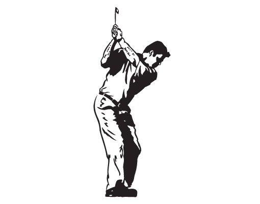 Wandtattoo No.817 Golfer