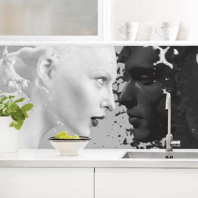 Küchenrückwand - Milk & Coffee II