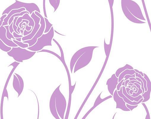 Wandtattoo Floral Ranke No.IS74 Rosenranke