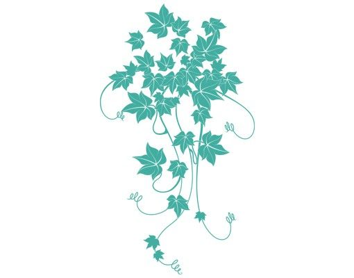 Wandtattoo Floral Ranke No.IS75 Efeu