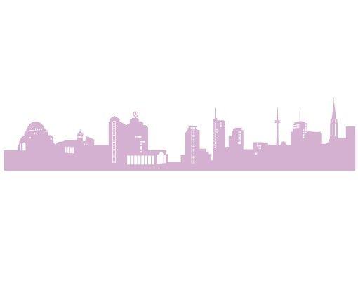 Wandtattoo Skyline No.FB27 Essen Skyline II
