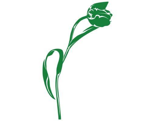 Wandtattoo Tulpe Floral No.IS80 Tulpe III