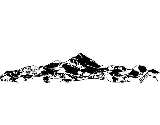 Wandtattoo Stein No.CG149 Gebirge