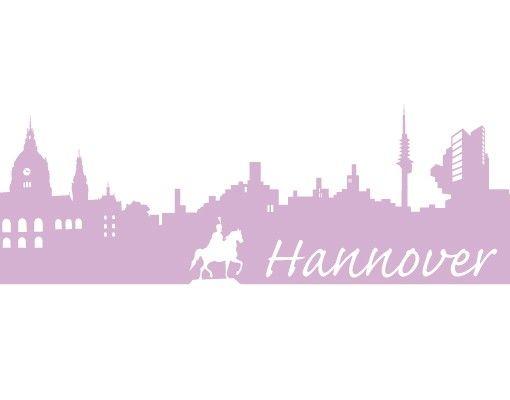 Stadt Hannover - Wandtattoo Skyline - No.FB29 Hannover Skyline I
