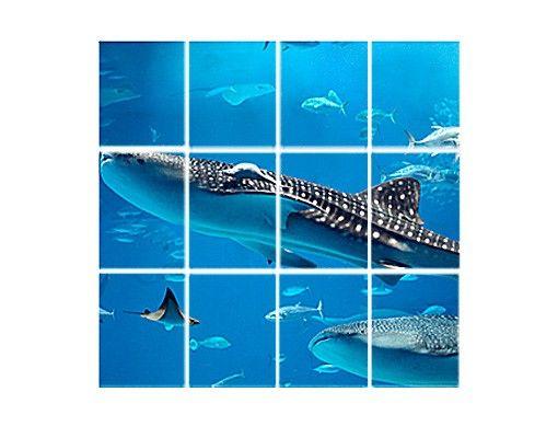 Fliesenbild - Fish In The Sea