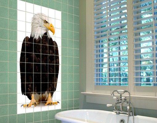 Fliesenbild - Eye Of The Eagle