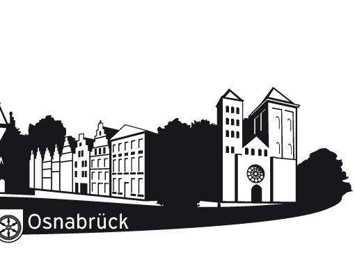 Wandtattoo Skyline No.RS4 Skyline Osnabrück