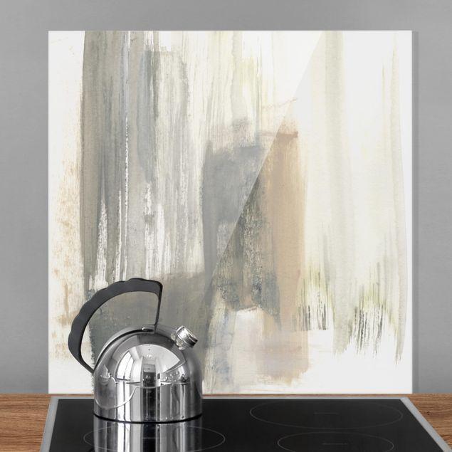 Glas Spritzschutz - Ein Hauch von Pastell I - Quadrat - 1:1