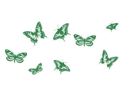 Wandtattoo Schmetterling Haken No.IS120 Schmetterlinge