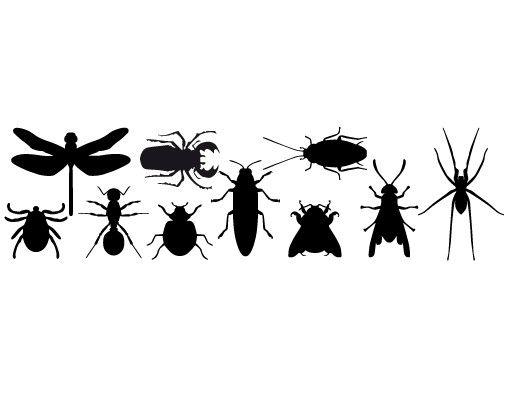 Wandtattoo Schmetterling Haken No.MW42 Insekten
