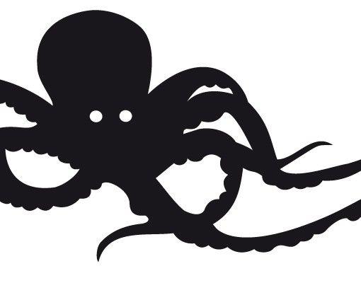 Wandtattoo Haken No.MW53 Oktopus