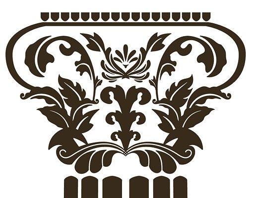 Wandtattoo No.RS29 Die Säulen der Aphrodite