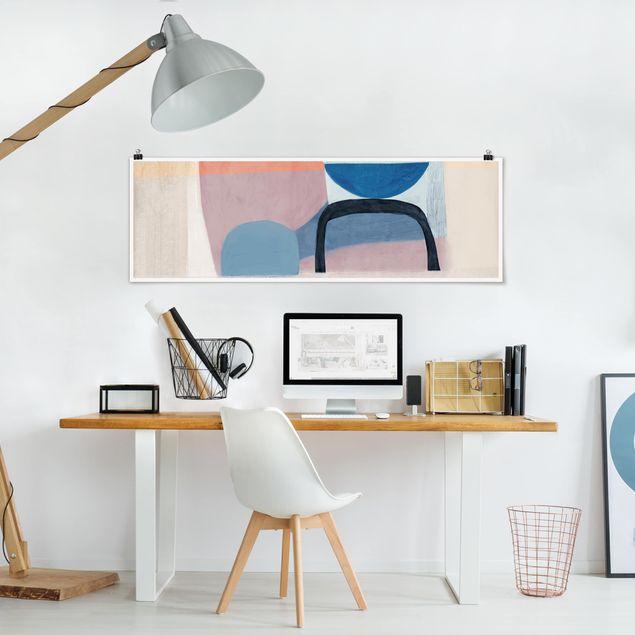 Poster - Multiform II - Panorama Querformat