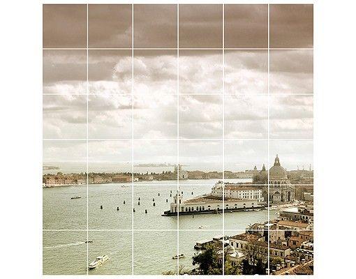 Fliesenbild - Lagune von Venedig