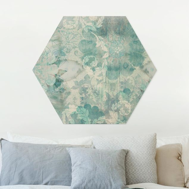 Hexagon Bild Forex - Eisblumen