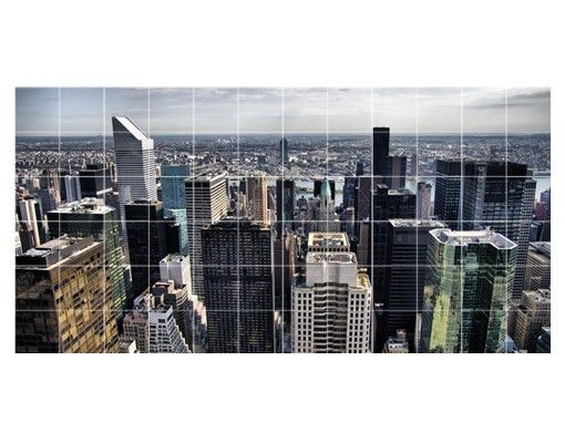 Fliesenbild - Mitten in New York