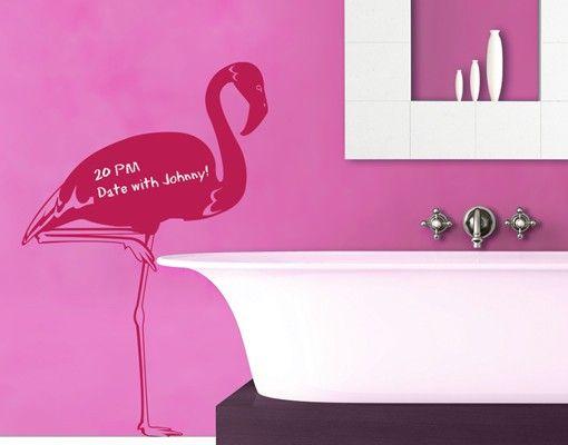 Wandtattoo Kreidetafel No.IS48 Flamingo
