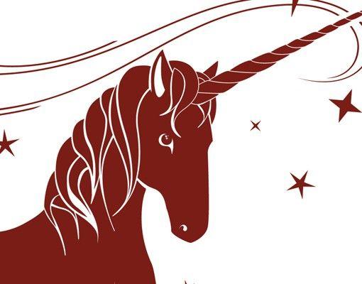 Wandtattoo Pferd Kreidetafel No.IS62 Einhorn