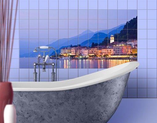 Fliesenbild - Bellagio am Comer See