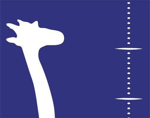 Wandtattoo Giraffe Kreidetafel No.DS43 Messlatte Giraffe