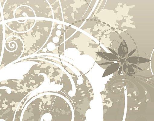 Fliesenbild - Perlmutt Ornament Design