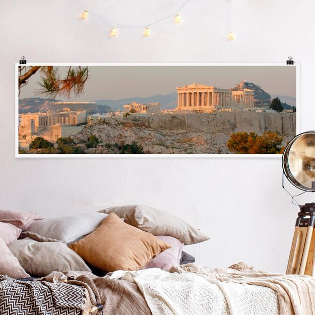 Poster - Akropolis - Panorama Querformat