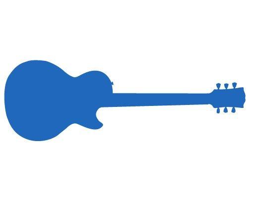 Wandtattoo Kreidetafel No.AC78 Gitarre