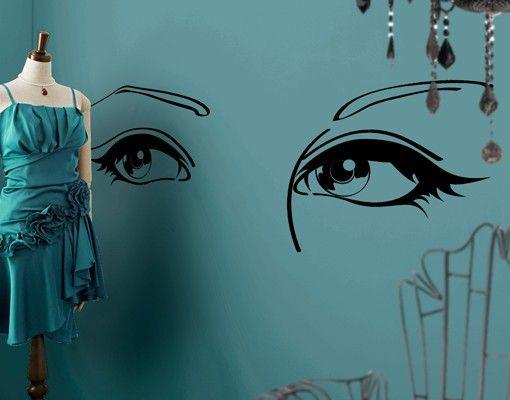 Wandtattoo No.IS142 Beautiful Eyes