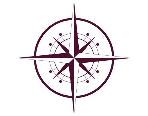 Wandtattoo No.IS143 Kompass
