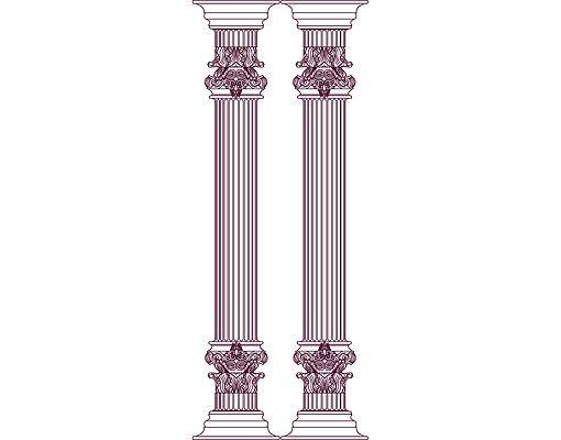 Wandtattoo No.RS87 Die Säulen der Hera