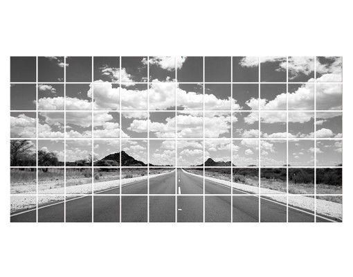 Fliesenbild - Route 66 II