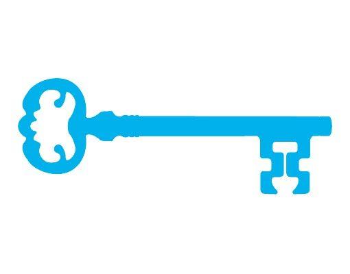 Wandtattoo Haken No.AC139 Schlüssel