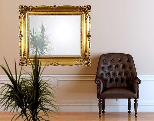 Wandtattoo No.494 Goldener Rahmen II