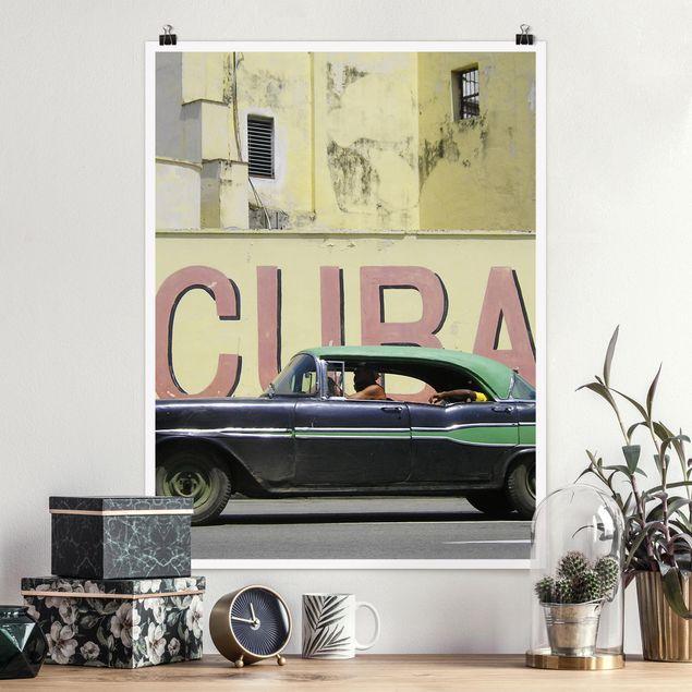 Poster - Show me Cuba - Hochformat 3:4