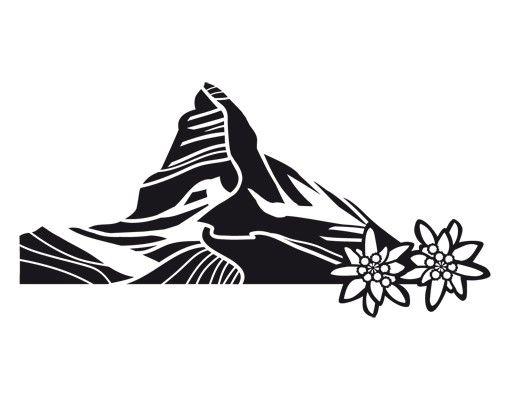 Wandtattoo No.UL742 Matterhorn