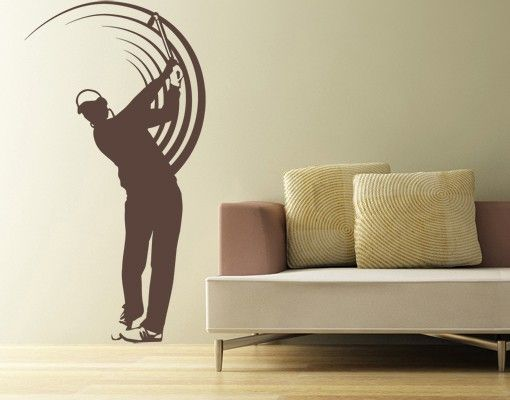 Wandtattoo No.UL743 Golfer
