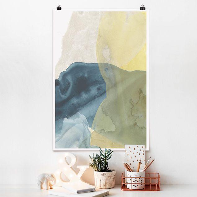 Poster - Ozean und Wüste III - Hochformat 3:2