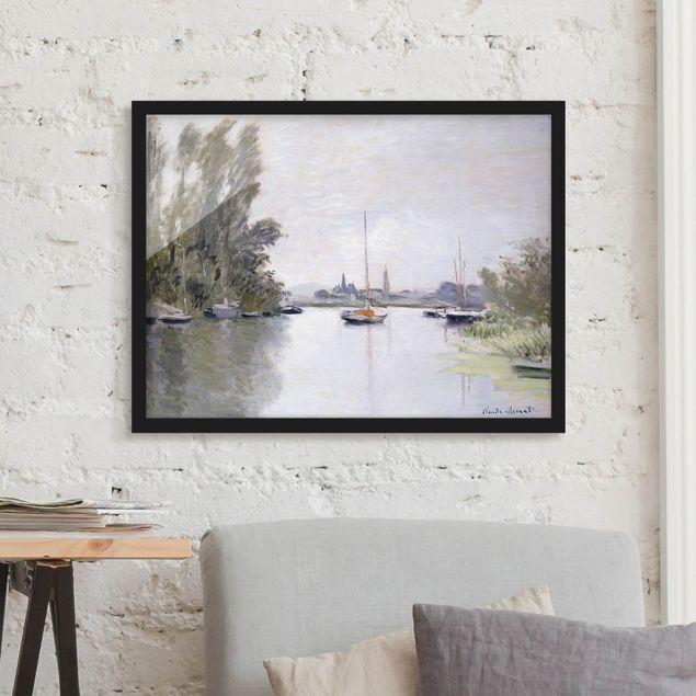 Bild mit Rahmen - Claude Monet - Argenteuil - Querformat 3:4