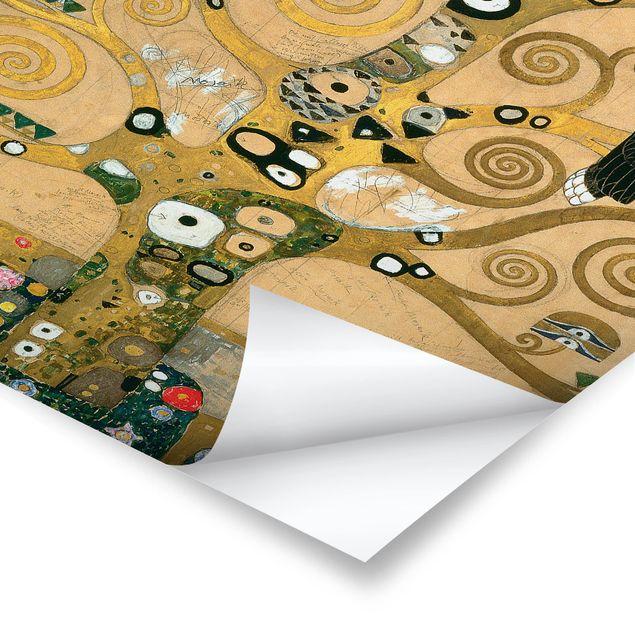Poster - Gustav Klimt - Der Lebensbaum - Hochformat 3:2