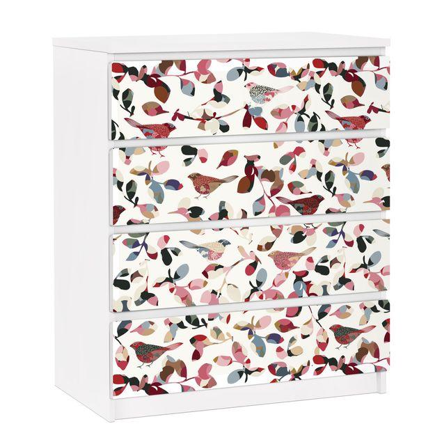 Möbelfolie für IKEA Malm Kommode - selbstklebende Folie Look Closer