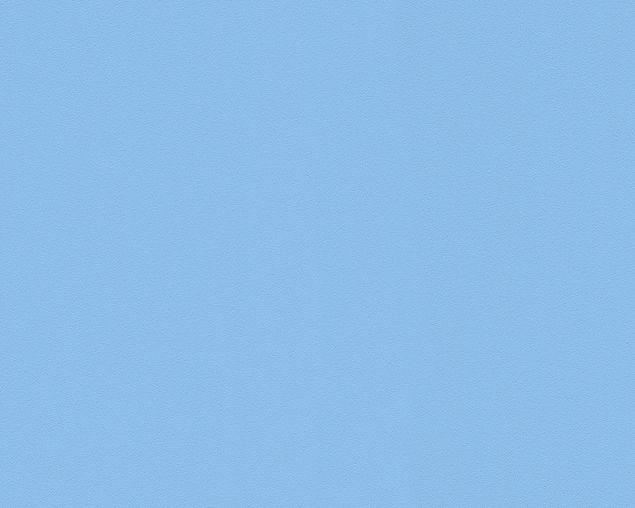 A.S. Création Unitapete MeisterVlies 5 die glatte Wand in Blau