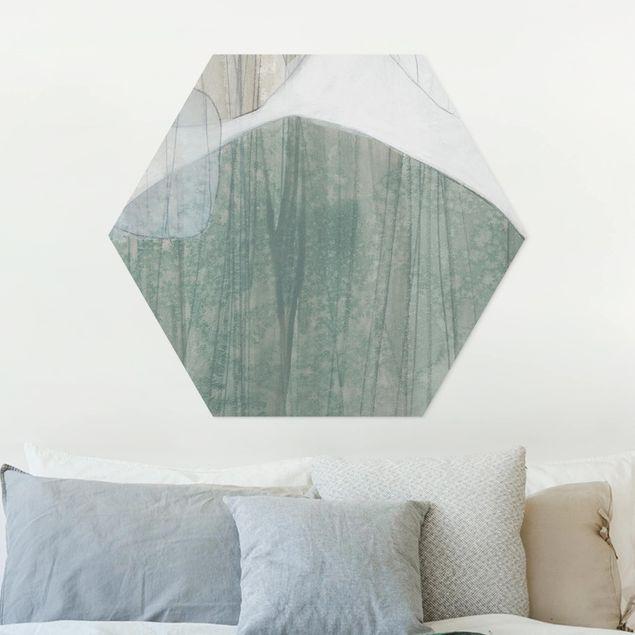 Hexagon Bild Forex - Jadesteine I