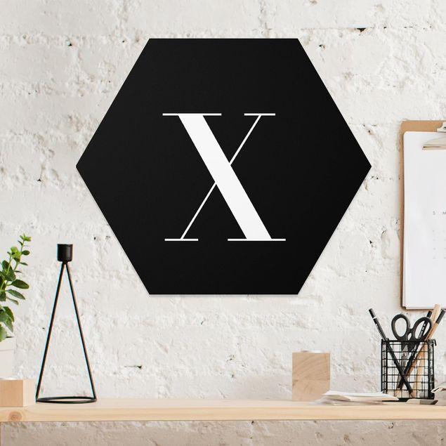 Hexagon Bild Forex - Buchstabe Serif Schwarz X