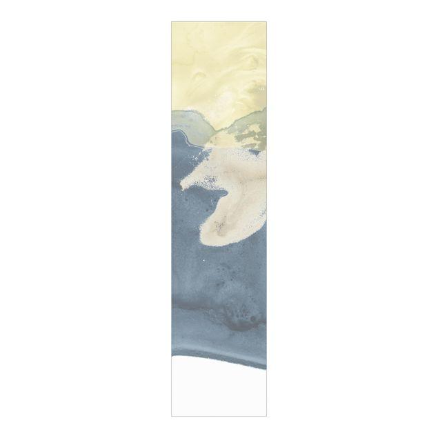Schiebegardinen Set - Ozean und Wüste II - Flächenvorhang