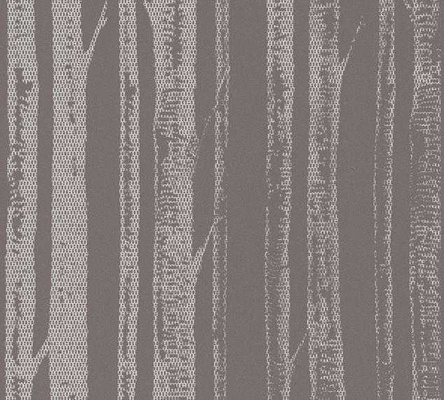 A.S. Création Mustertapete Scandinavian Style in Grau, Metallic, Weiß