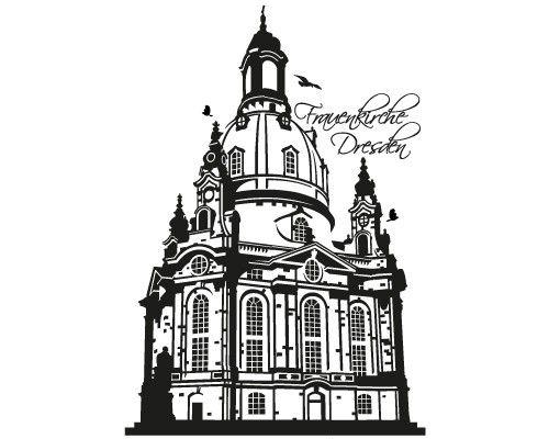 Wandtattoo Skyline No.FB94 Frauenkirche
