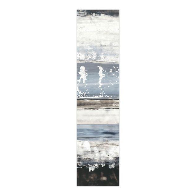 Schiebegardinen Set - Eisiger Horizont I - Flächenvorhang