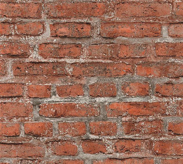 Livingwalls Mustertapete Neue Bude 2.0 in Bunt, Grau, Rot