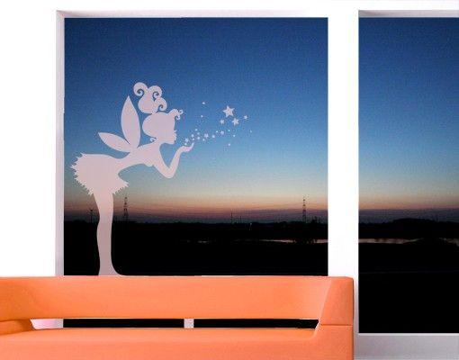 Fensterfolie - Fenstertattoo No.EK138 Elfe - Milchglasfolie
